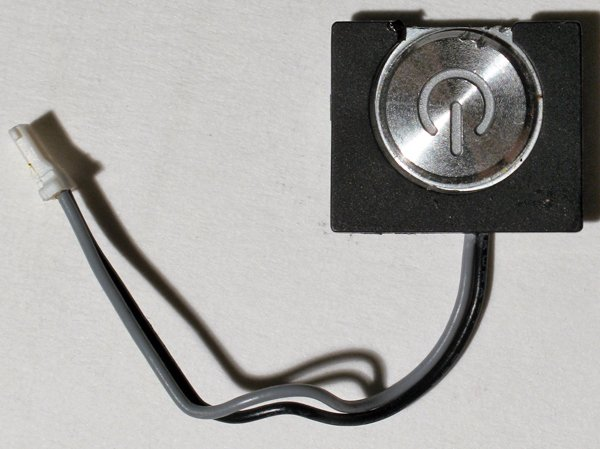 "APPLE MAC POWERBOOK G4 1GHz 15"" TITANIUM POWER SWITCH"