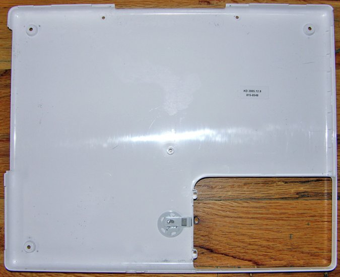 "GENUINE APPLE iBOOK G4 12"" 1.33GHz BOTTM CASE 815-8548"