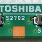 TOSHIBA PORTEGE 3500 TABLET SWITCH BOARD A5A000408010