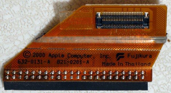 POWERBOOK G4 TITANIUM 667-1GHz HD HARD DRIVE FLEX CABLE