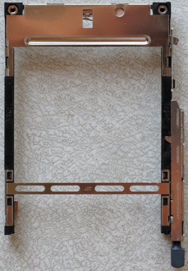 FUJITSU LIFEBOOK P SERIES P2040 P1120 PCMCIA SLOT CAGE
