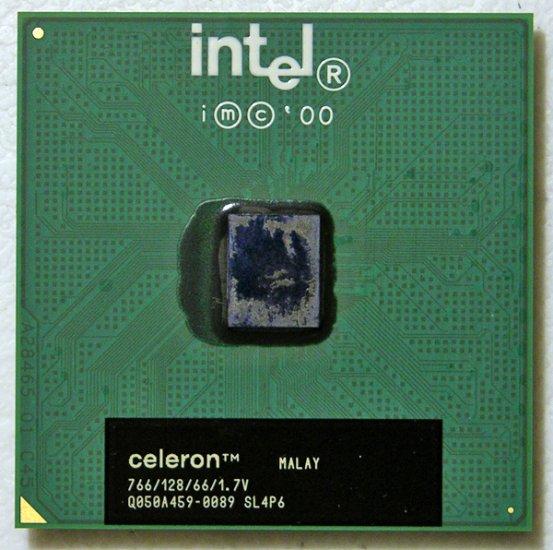 COMPAQ INTEL CELERON CPU 766 / 128 / 66 / 1.7V SL4P6