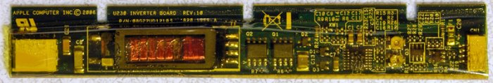"APPLE MACBOOK 13.3"" 2.0GHz LCD INVERTER 08G22UD1210T"