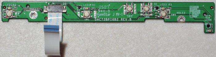 COMPAQ PRESARIO M2000 V2000 POWER BUTTON BOARD DACT2BPI6B2 W/ CABLE