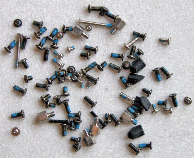 GENUINE COMPAQ PRESARIO 2100 2200  HP ZE4200 LAPTOP SCREWS SET
