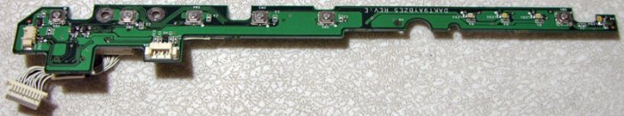 COMPAQ 2100 2200 POWER SWITCH BOARD DAKT9AYB2E5 REV : E