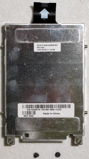 DELL INSPIRON B120 B130 1300 HARD DRIVE HD CADDY JD974