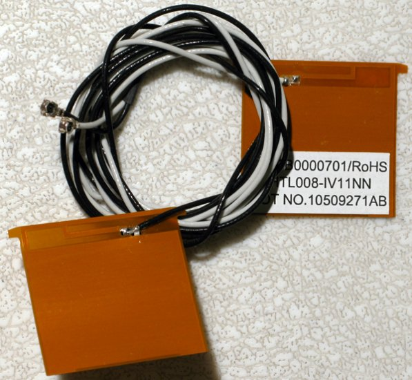 TOSHIBA SATELLITE M40 M45 WIRELESS WiFi ANTENNA CABLE