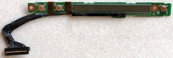 FUJITSU LIFEBOOK P SERIES P2040 P1120 LED BOARD & CABLE