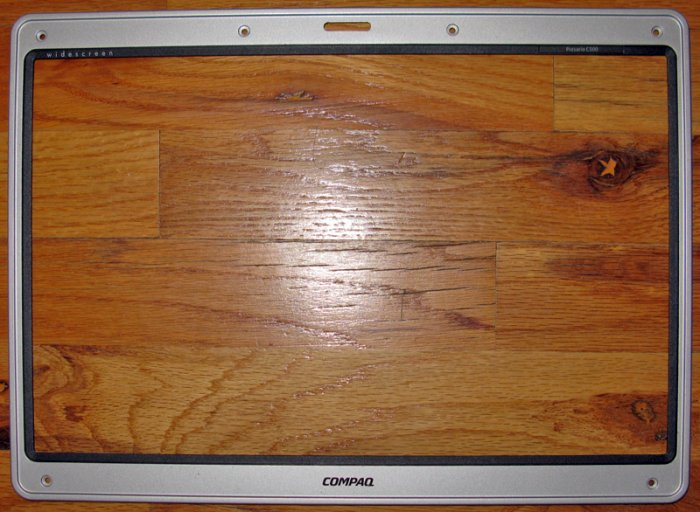 """COMPAQ C500 V5000 15.4"""" LCD SCREEN BEZEL FAZIP000R00"""