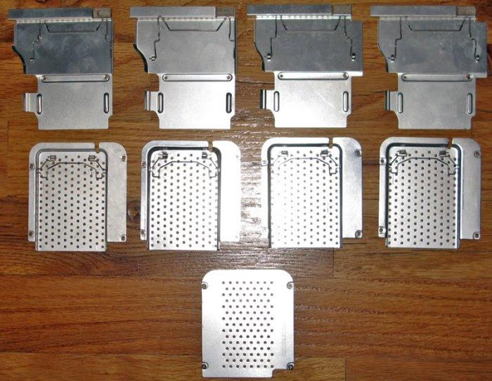 """LOT OF 9 APPLE iBOOK G3 G4 12"""" 14"""" RAM / MEMORY COVERS"""