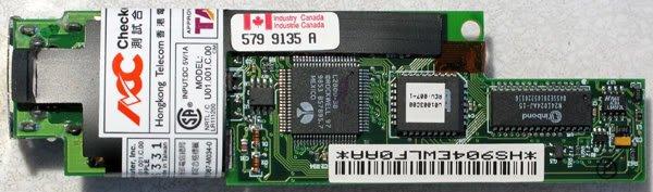APPLE POWERBOOK G3 WALLSTREET 56K MODEM A811 617-0159-C