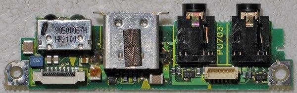 TOSHIBA 3010CT 3020CT AUDIO JACK / USB PORT B3608171106