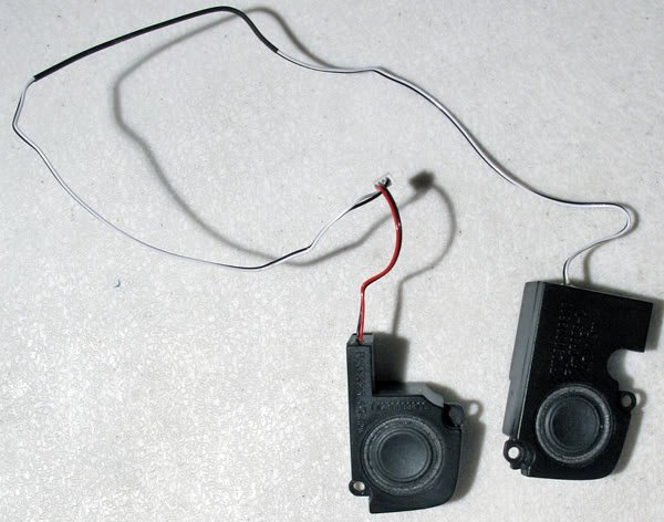 TOSHIBA SATELLITE M35X M30X SPEAKERS LEFT & RIGHT SET
