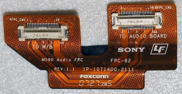 SONY VAIO VGN-FZ190E FZ240E AUDIO CABLE 1P-1071400-2111