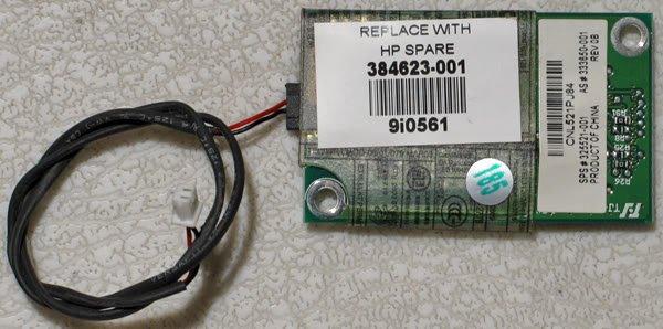 HP COMPAQ V4000 DV4000 PCI MODEM w/ CABLE 384623-001