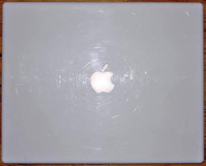 "GENUINE APPLE iBOOK G4 1.33GHz 14"" LCD SCREEN COVER LID"