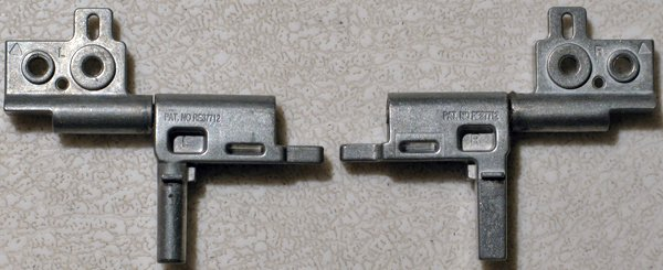 DELL INSPIRON 8500 8600 D800 LCD SCREEN HINGES SET L R