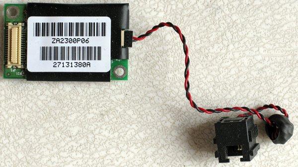 TOSHIBA SATELLITE 1400 2400 2410 PCI MODEM w CABLE JACK