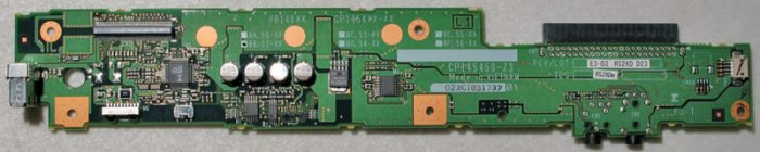 FUJITSU LIFEBOOK C SERIES USB PORT AUDIO BOARD CP145450