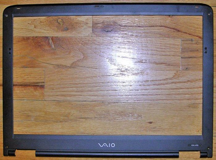 "GENUINE OEM SONY VIAO VGN-A150 15.4"" LCD SCREEN BEZEL"