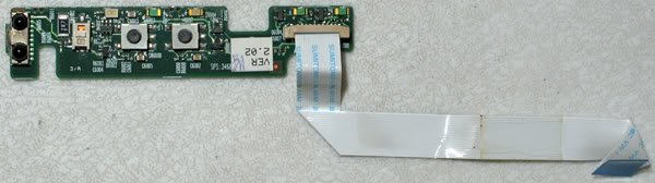 HP COMPAQ NC6000 AUDIO INFRARED BOARD W/ CABLE 346884