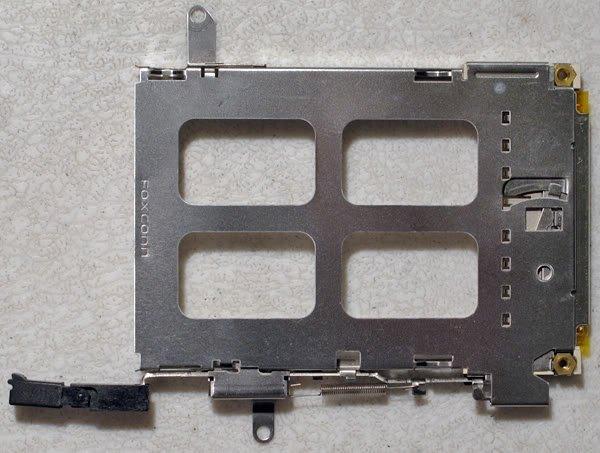 HP PAVILION ze5200 ze5400 COMPAQ 2500 PCMCIA SLOT CAGE