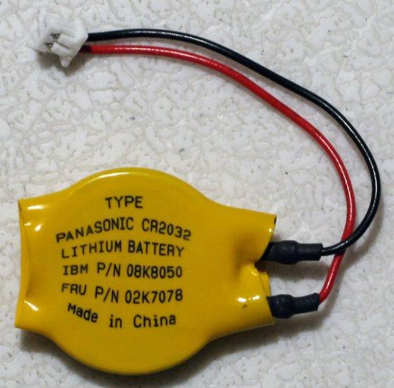 IBM THINKPAD X32 X31 X30 BIOS / CMOS BATTERY 08K8050