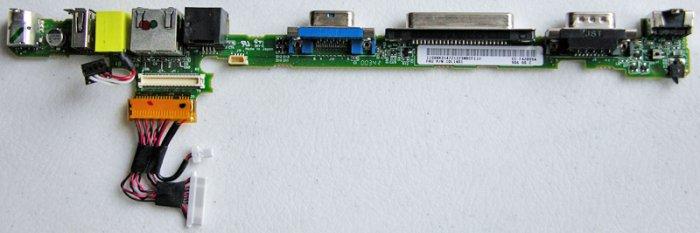 IBM THINKPAD T23 I/O PORTS BOARD USB NIC MODEM 10L1401
