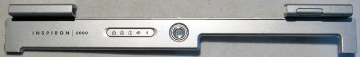 DELL INSPIRON 6000 POWER BUTTON LCD HINGE COVER 0G5845