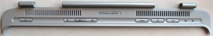 HP PAVILION ZD8000 POWER BUTTON HINGE COVER 373048-001
