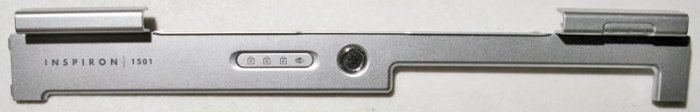 DELL INSPIRON 1501 POWER BUTTON LCD HINGE COVER 0UW533