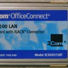3COM ETHERNET 3CXSH572BT 10/100 LAN XJACK PCMCIA CARD