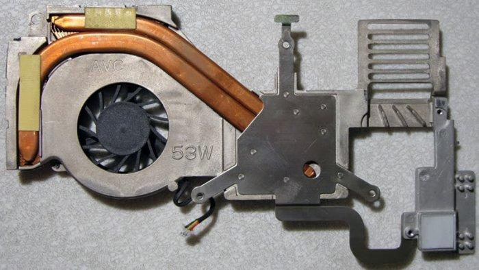 HP ze4200 COMPAQ 2100 CPU HEATSINK & FAN CF0550 361380