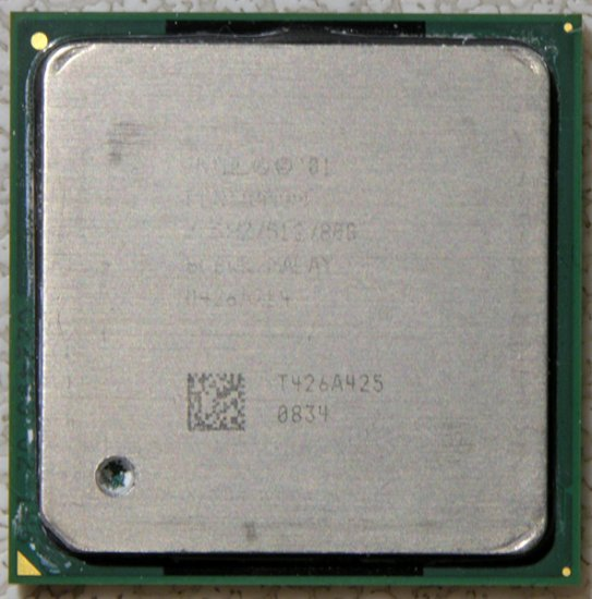 HP PAVILION ZV5000 INTEL PENTIUM 4 3.0GHz CPU PROCESSOR SL6WK
