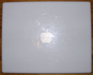 "GENUINE APPLE iBOOK G3 G4 12"" LCD SCREEN TOP COVER LID"