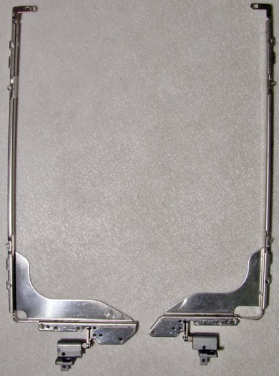 """HP PAVILION ZD7000 ZD8000 17"""" LCD HINGES ASSEMBLY LEFT & RIGHT"""