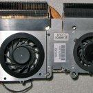 HP PAVILION ZD7000 ZD7100 COMPAQ NX9500 CPU HEATSINK & FAN 344872-001