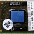 IBM THINKPAD INTEL PENTIUM 3 650MHz MOBILE CPU PROCESSOR SL3PL