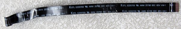 HP PAVILION DV9000 SERIES MEDIA POWER SWITCH FLEX CABLE