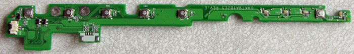 COMPAQ PRESARIO 2500 nx9010 HP ZE5700 POWER SWITCH BOARD BOARD DAKT9AYB2E5