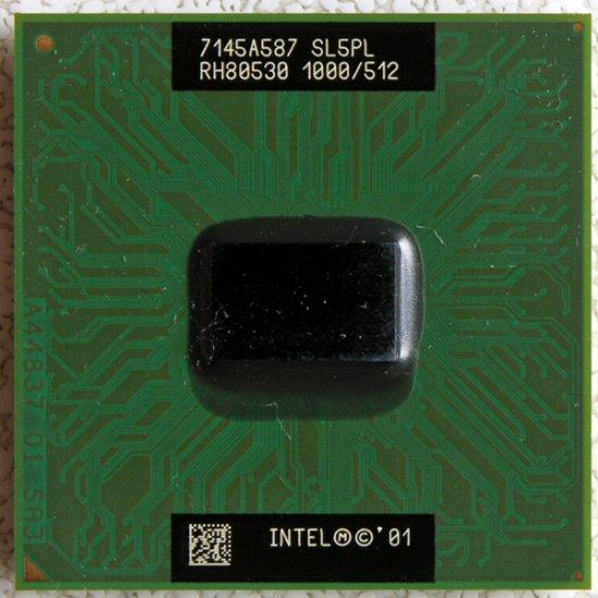TOSHIBA SATELLITE 3000 INTEL PENTIUM M 3 1.0GHz CPU RH80530 SL5PL