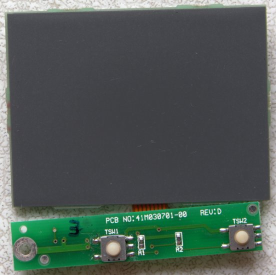 COMPAQ PRESARIO 1625 1621 1611 MOUSE TOUCHPAD ASSY TM41PUGX134-1