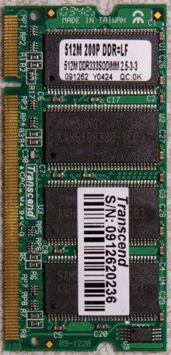 APPLE MAC iBOOK G4 1.064GHz 512MB RAM PC2700 DDR 200PIN