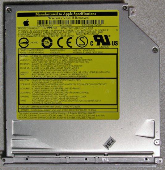 "GENUINE APPLE MAC iBOOK G4 12"" 14"" DVD CDRW COMBO DRIVE CW-8124-C"