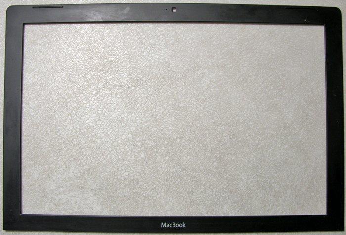 "GENUINE OEM APPLE BLACK MACBOOK 13.3"" FRONT LCD FRAME / BEZEL"