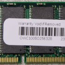 GENUINE APPLE MAC POWERBOOK G3 G4 iBOOK G3 256MB RAM PC100 144PIN