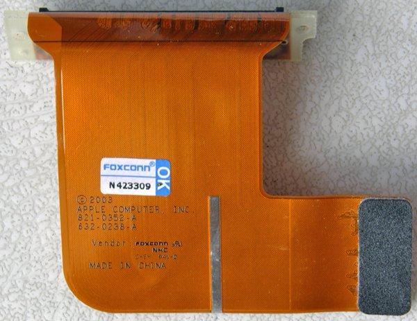 "APPLE MAC POWERBOOK G4 15"" ALUMINUM AIRPORT CONNECTOR 821-0352-A"