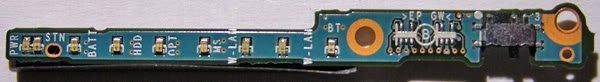 SONY VAIO VGN-S150 S170 S260 S360P WIRELESS WiFi SWITCH w/ LED BOARD LEX - 61