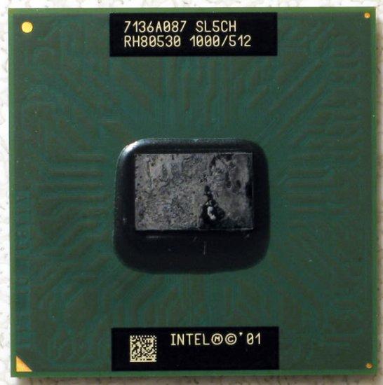 COMPAQ 2700 INTEL PENTIUM 3 M 1.0GHz LAPTOP CPU SL5CH